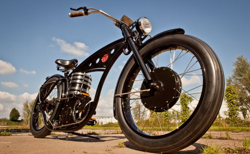 Harley e-bike by B4-Bikes